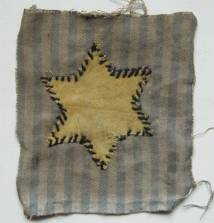 My imaginary country has a flag:  it's made from the uniform of a Holocaust survivor.