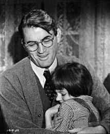 Atticus as most of us remembered him...until now.