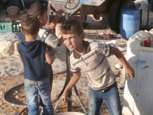 The children of Susiya didn't seem to like us much, and who can blame them?