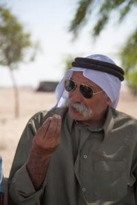 Sheik Saya Al-Turi demands his rights as a citizen of Israel.