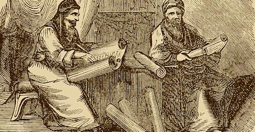 Rabbis-Studying-Halakha